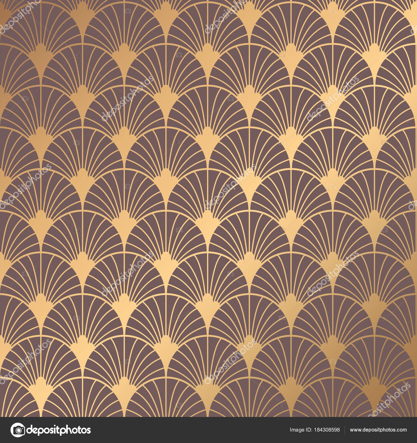 Art Deco Pattern Stock Vector Image Art Alamy 0
