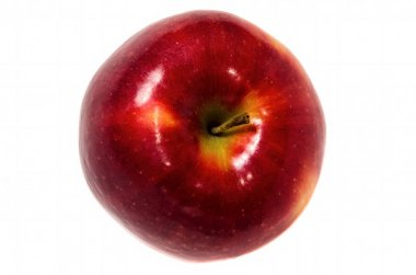 apple fruit closeup isolated