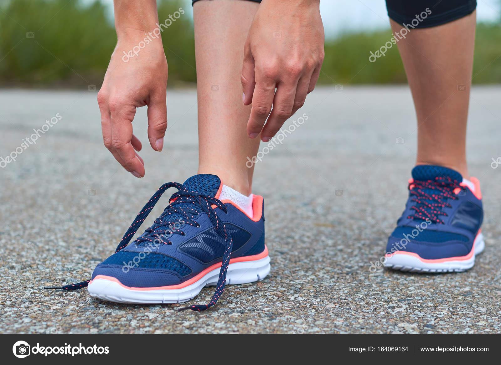 En Liens Lacets Fille Route De Jeune Tout Chaussures Sport Sur gqv6Bw