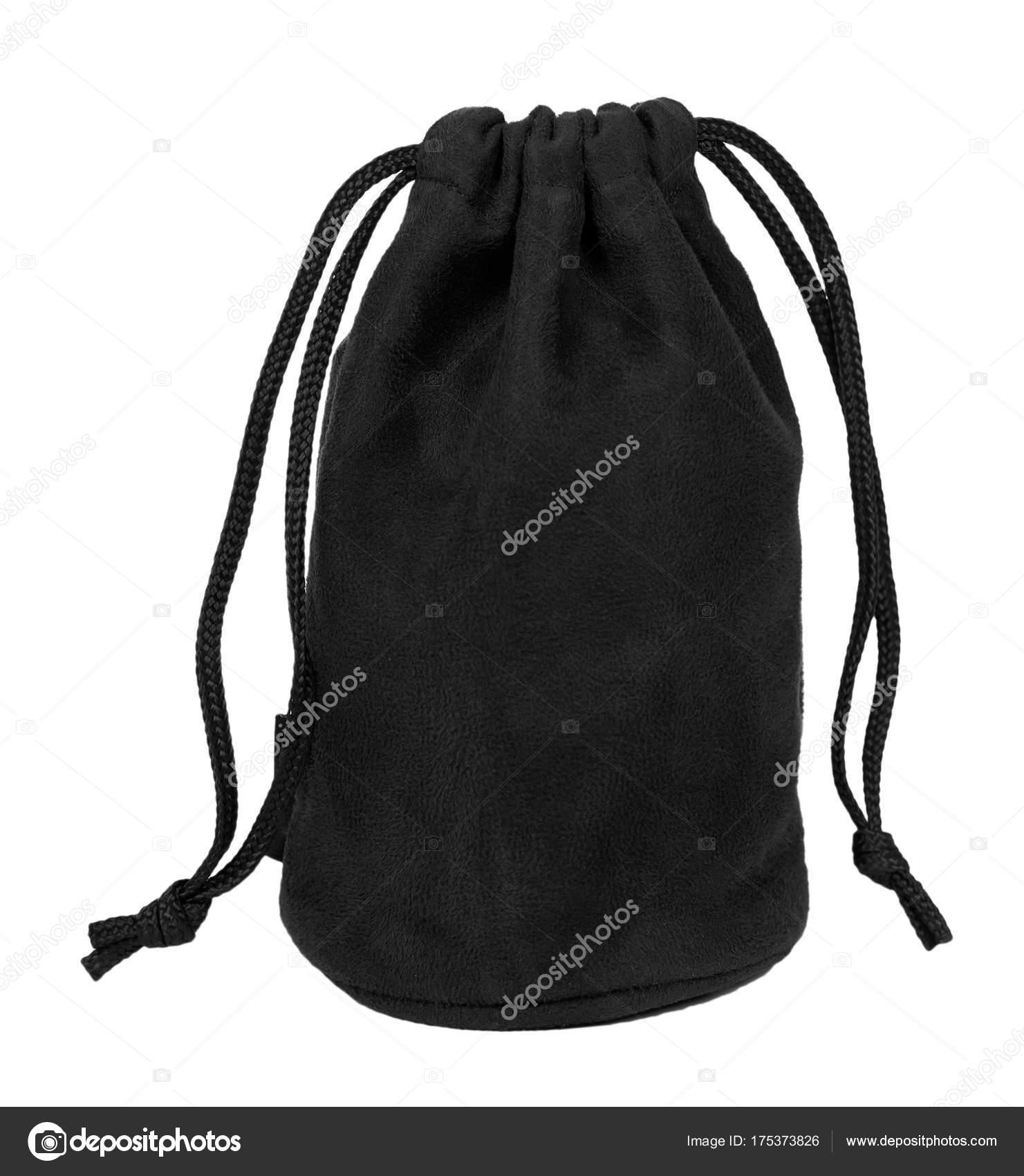9876278f3f793 Schwarze Textil-Sack