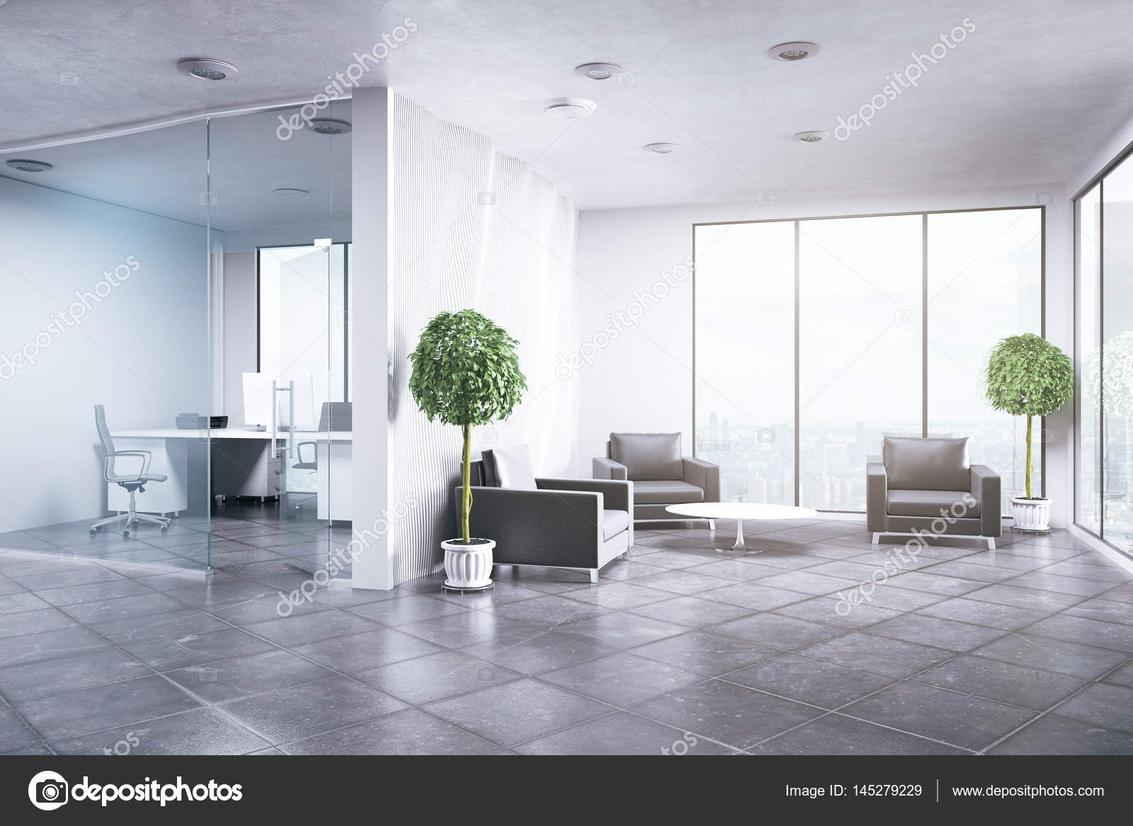 Im genes del interior de una oficina interior oficina for Foto interior design