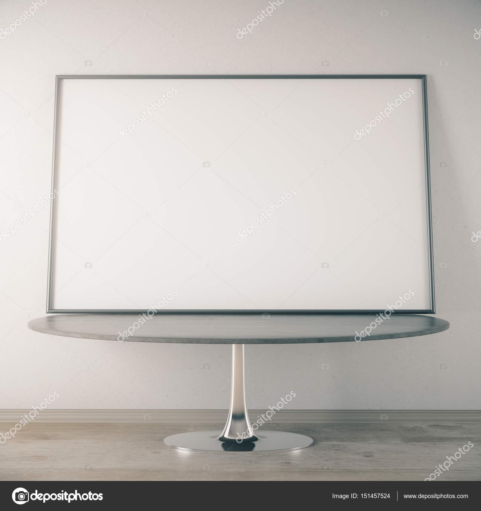 Mesa de centro con marco — Fotos de Stock © peshkov #151457524