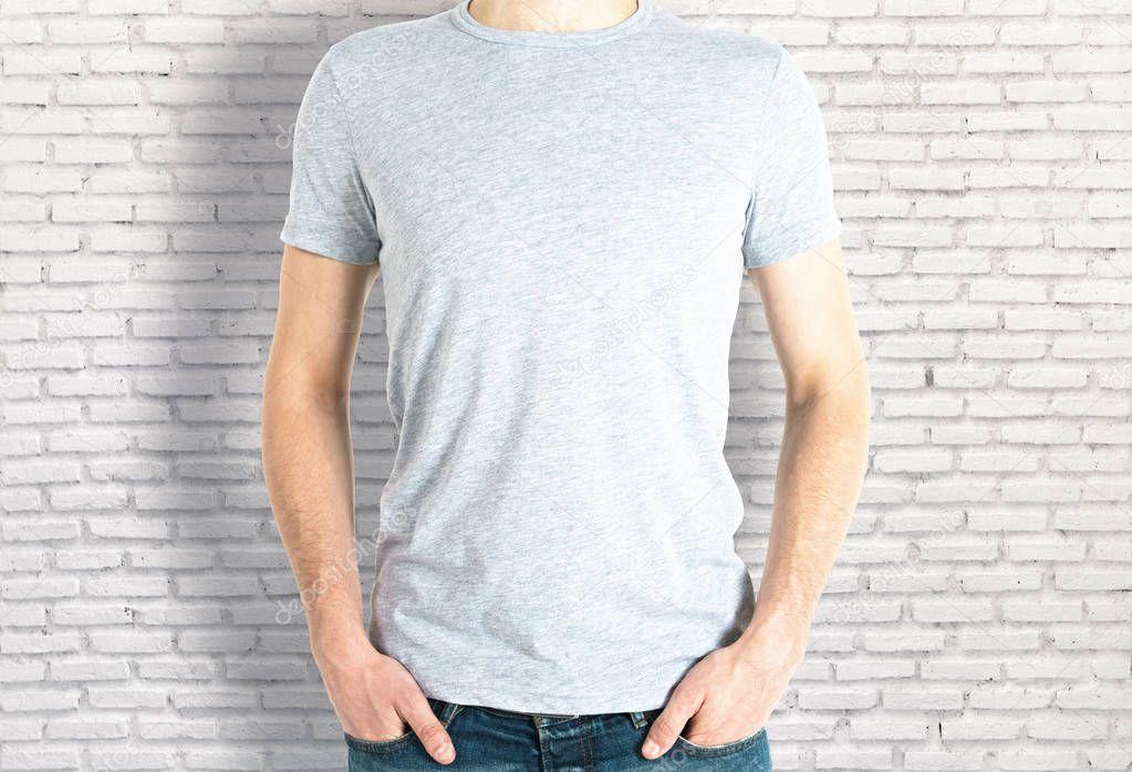 Casual Wit Overhemd.Casual Jongen In Wit Overhemd Voorzijde Stockfoto C Peshkov 151458008
