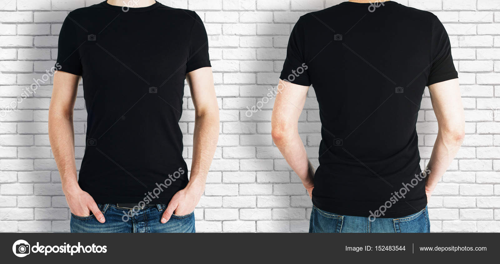 Man wearing black shirt — Stock Photo © peshkov #152483544