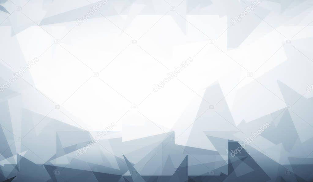 Fond d'écran blanc gris modèle polygonal — Photographie peshkov © #152483716