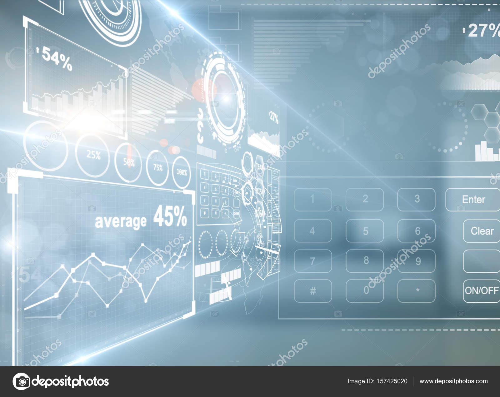 Vista lateral de la pantalla de Resumen de negocios digitales en ...