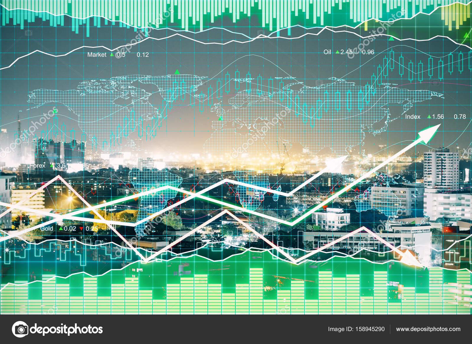 Графики торгов форекс i отличие форекс от биржи