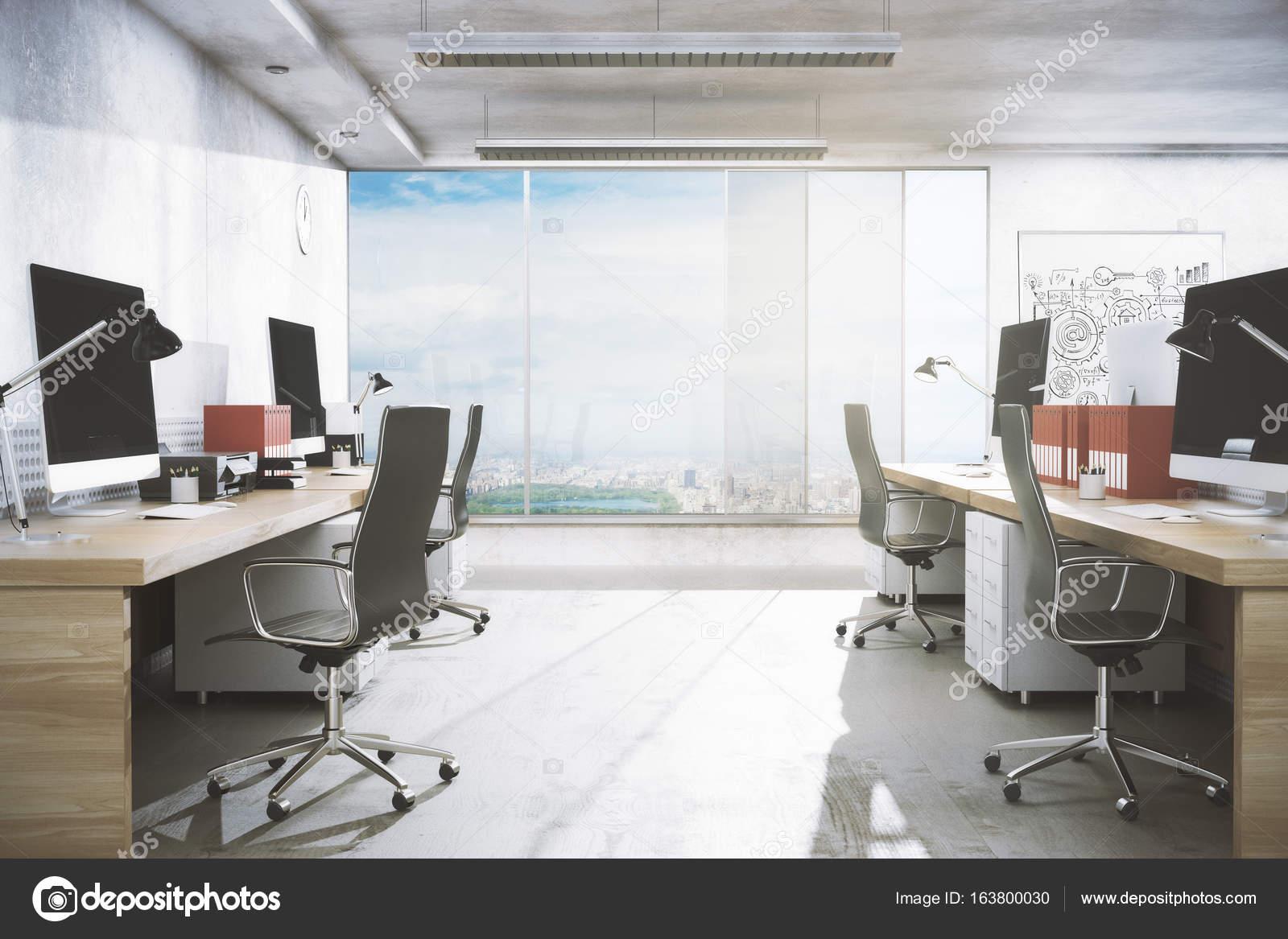 moderne Büro-Interieur — Stockfoto © peshkov #163800030