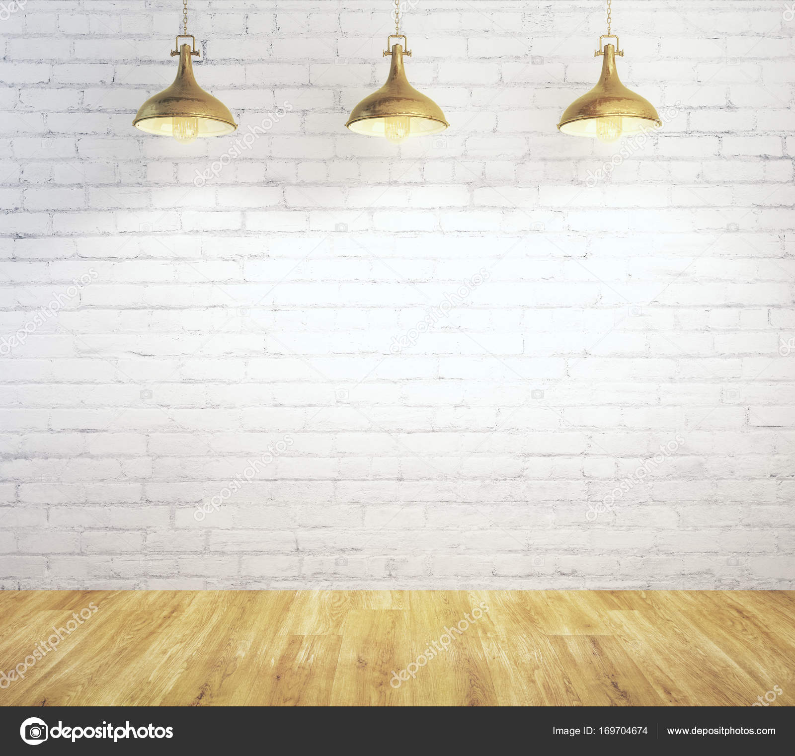with cafe lamps interior rendering stock white brick coffee chairs ceiling tables photo and in