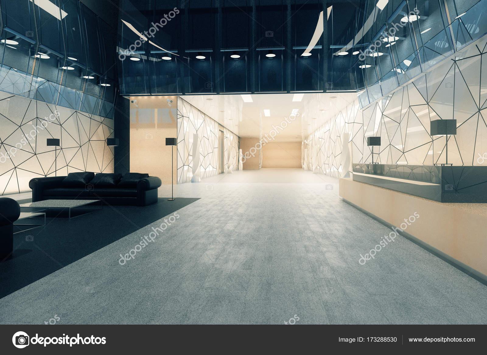 Moderne kantoor met receptie en lounge u2014 stockfoto © peshkov #173288530