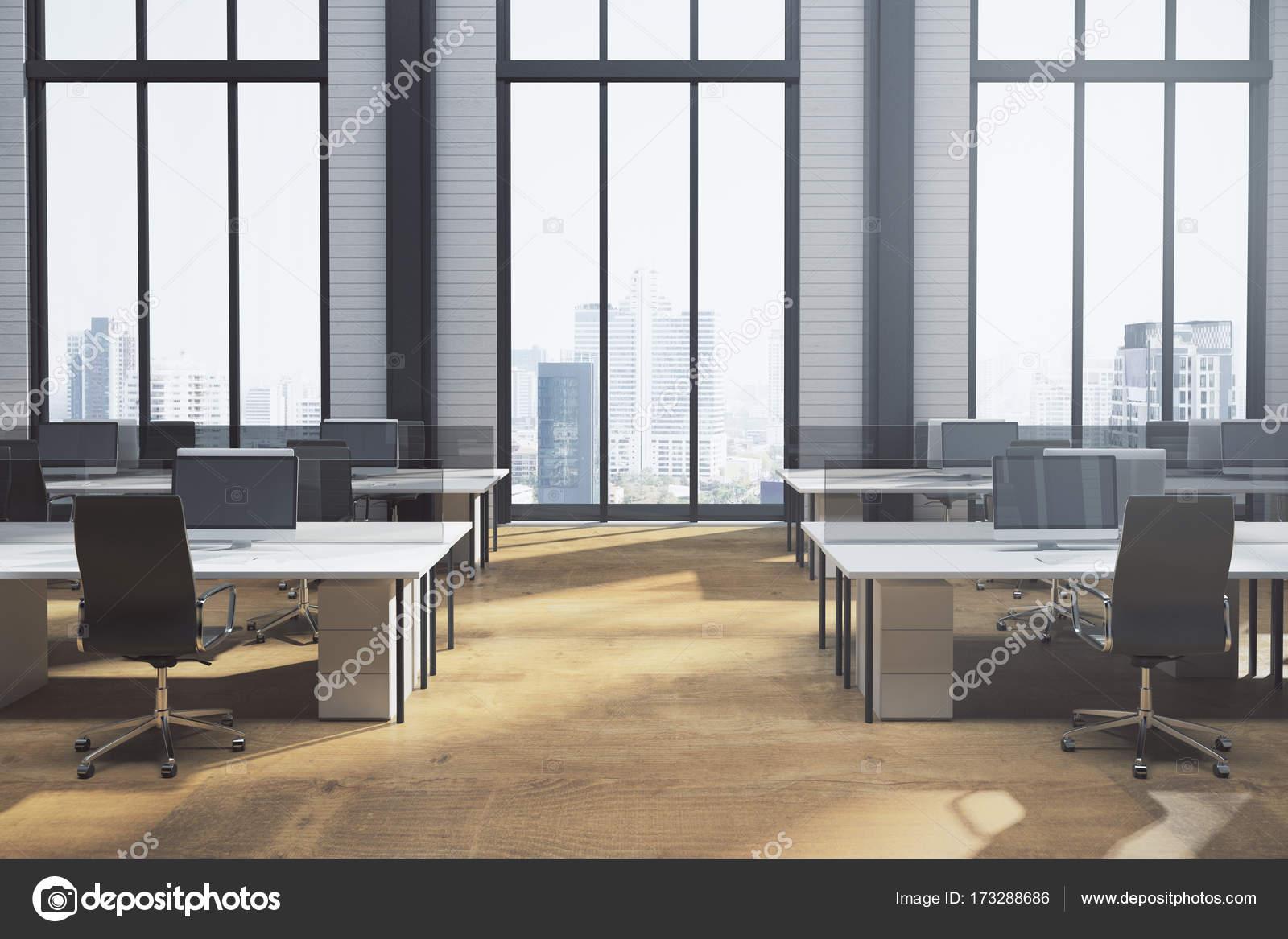 Coworking nouveau intérieur de bureau u photographie peshkov