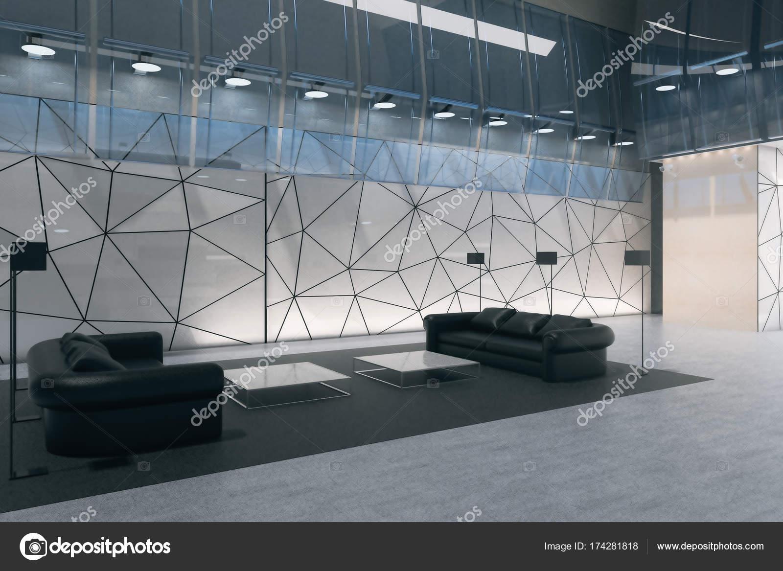 Moderne Inneneinrichtung mit Business-lounge — Stockfoto © peshkov ...
