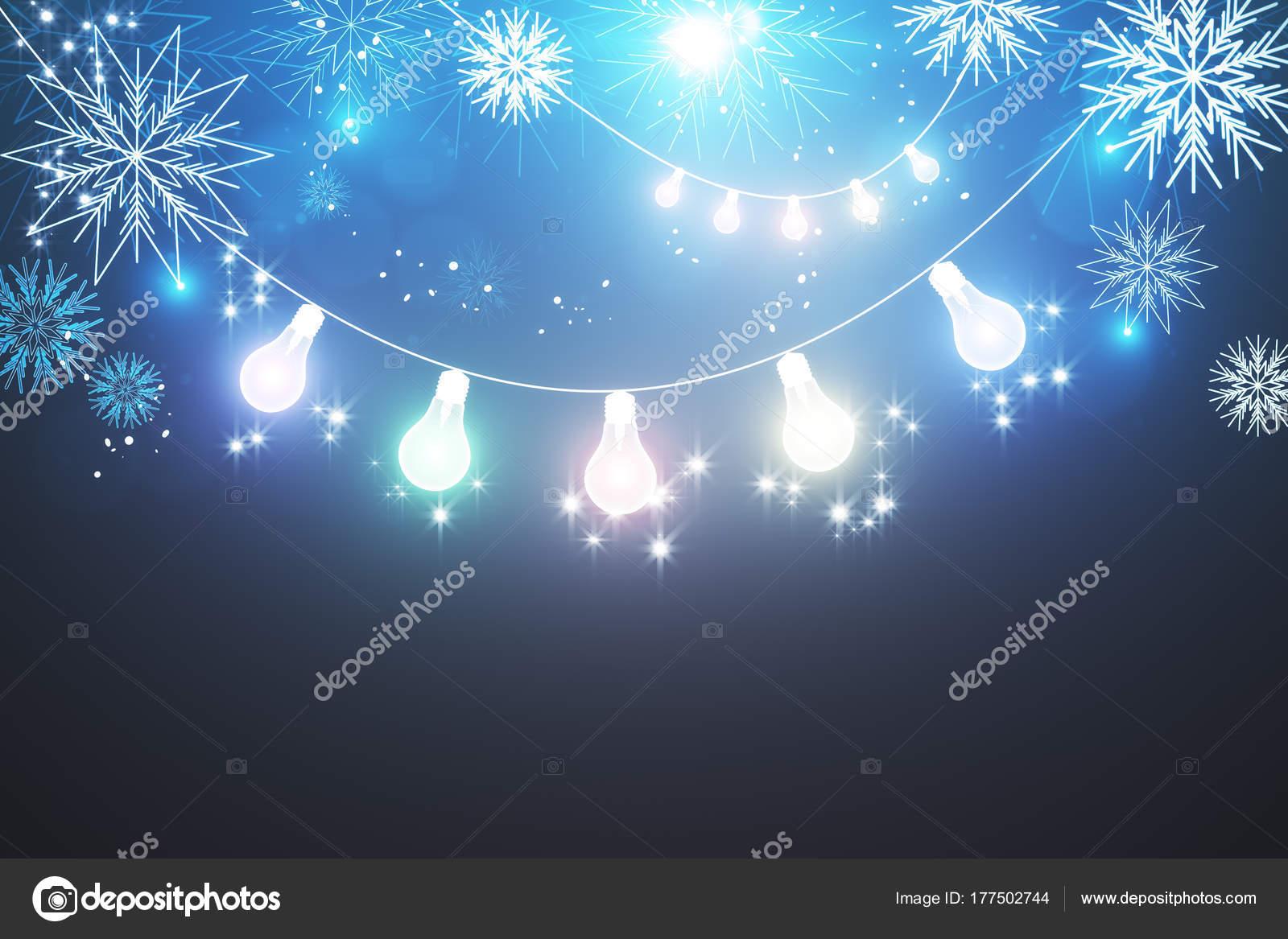 Leuchtende Weihnachten wallpaper — Stockfoto © peshkov #177502744