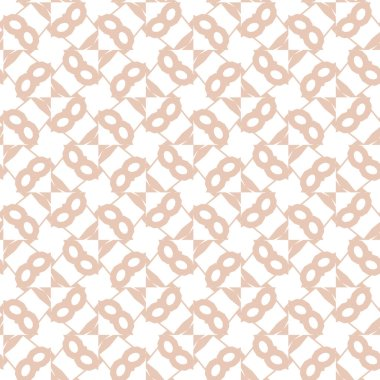 seamless pattern of abstract geometric shapes. vector illustration