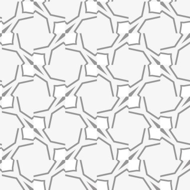 Abstract background texture in geometric ornamental style, seamless design