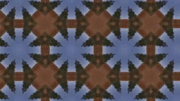 nahtloses Vektormuster im geometrischen ornamentalen Stil