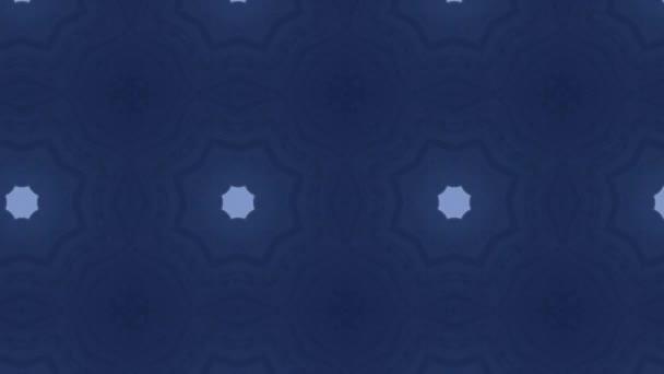 Záběry s bezešvým geometrickým ornamentálním vzorem. Abstraktní iluzní pozadí