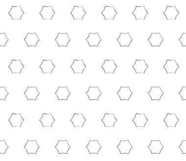 modern style illustration, vector geometric seamless pattern