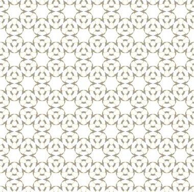 Seamless geometric ornamental pattern. Vector illustration