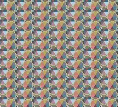 seamless pattern with geometric shapes. vector illustration