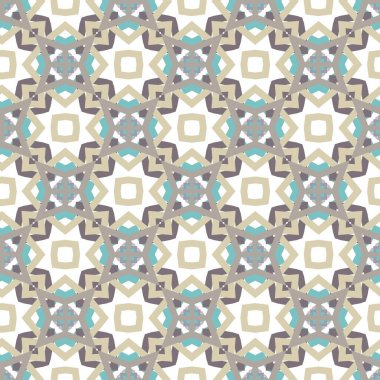 seamless pattern with geometric shapes vector illustration