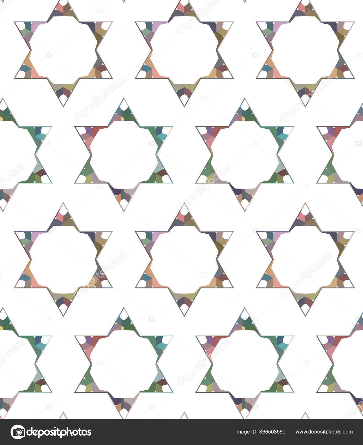 Modèle Sans Couture Avec Des Formes Géométriques ...