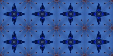 seamless geometric ornamental pattern. Abstract  background, illustration