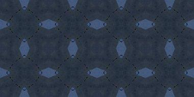 Seamless geometric ornamental pattern, abstract background