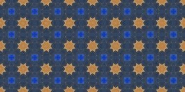 Seamless geometric ornamental pattern. Abstract background.