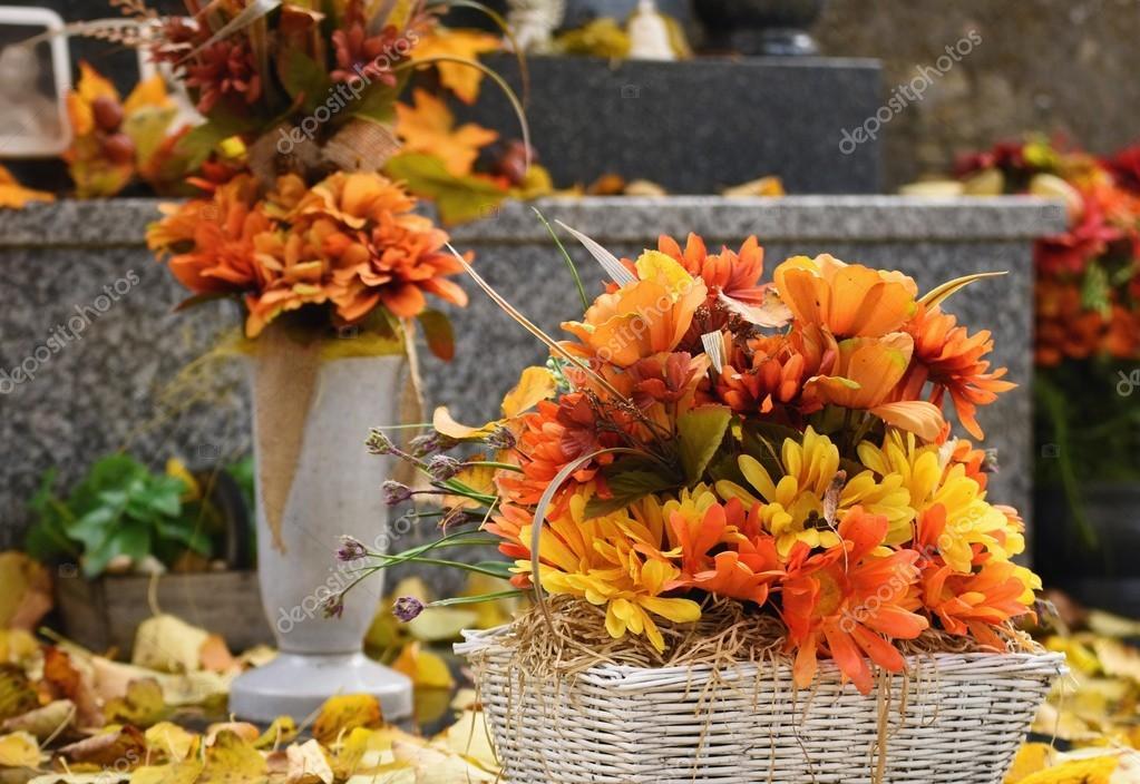 Concept de nature automne belle d coration d automne for Bouquet de fleurs halloween