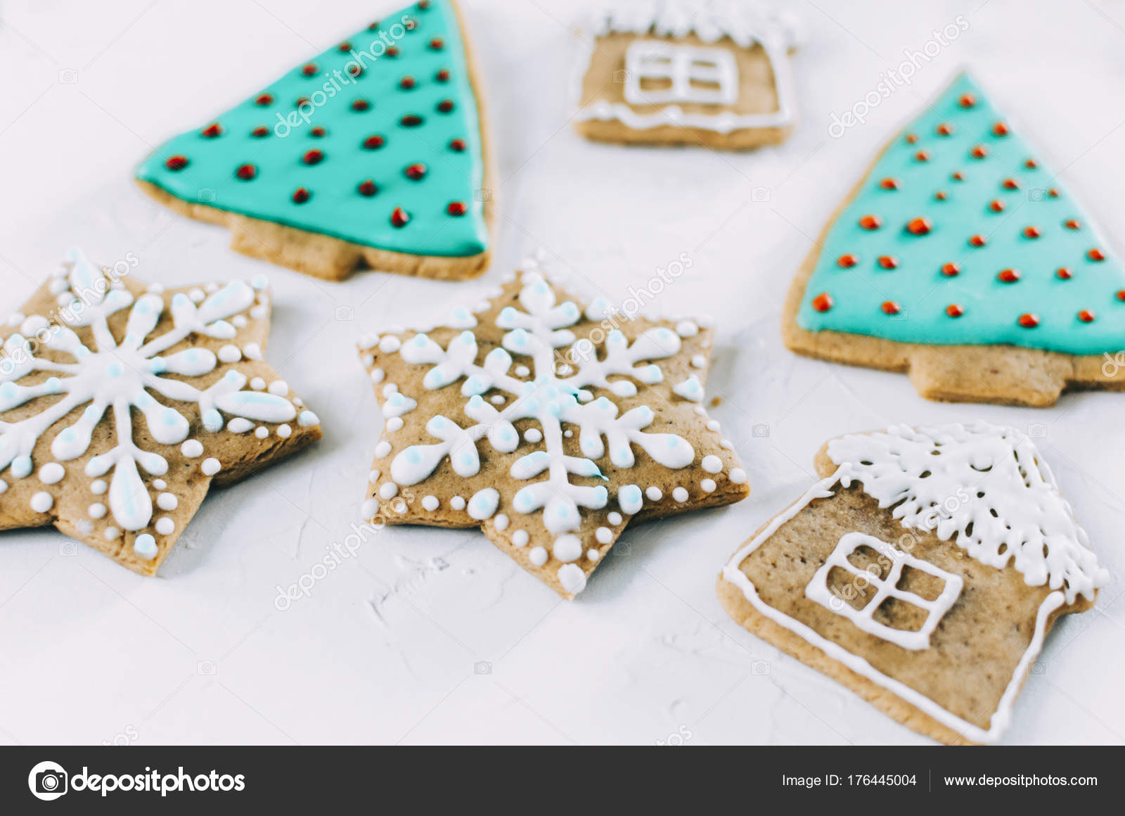 Ginger Christmas Cookies — Stock Photo © jangobeat #176445004