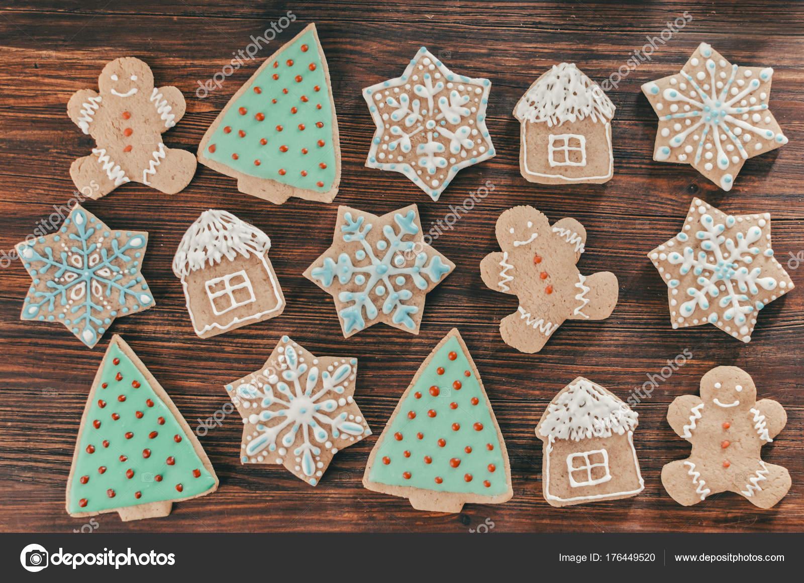 Biscotti Allo Zenzero Di Natale.Biscotti Allo Zenzero Di Natale Foto Stock C Jangobeat 176449520