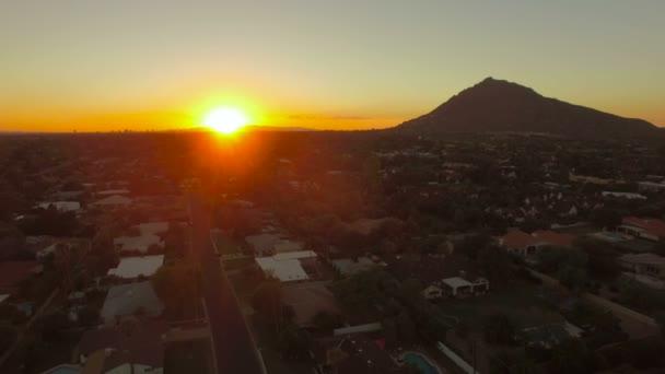 Scottsdale, Arizona légi videó.
