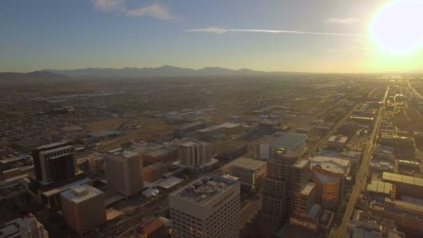 Légi videó a Phoenix, Arizona.