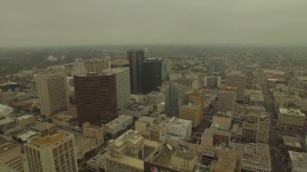 Letecké video ze San Diega v Kalifornii