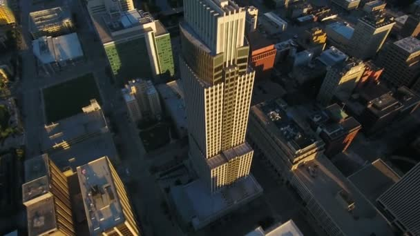 Aerial video of Omaha in Nebraska