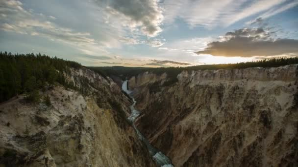 Time lapse in Yellowstone National Park.