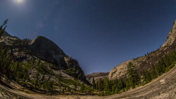 Time lapse in Yosemite National Park.