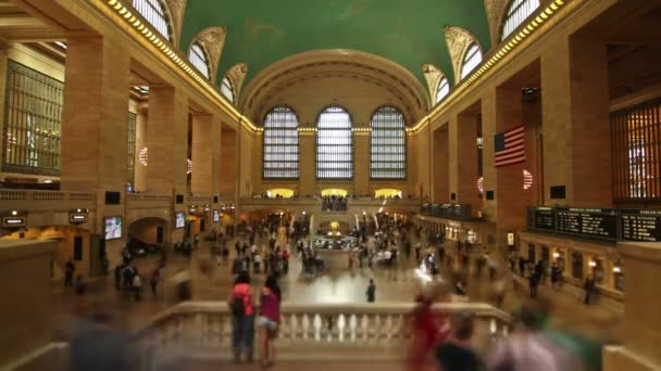 Časová prodleva v Grand Central Station v New York City