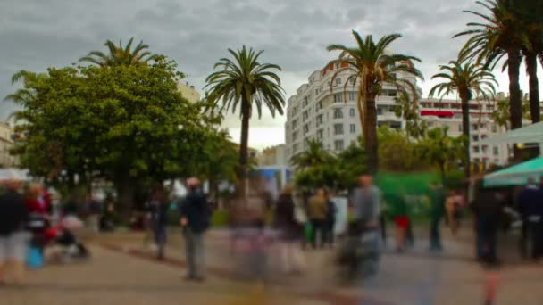 Time lapse of Cannes France