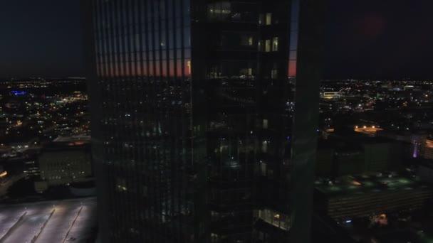 Légi felüljáró a Downtown Oklahoma City