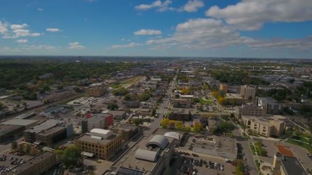 Luftbild von Fargo in Nord-Dakota