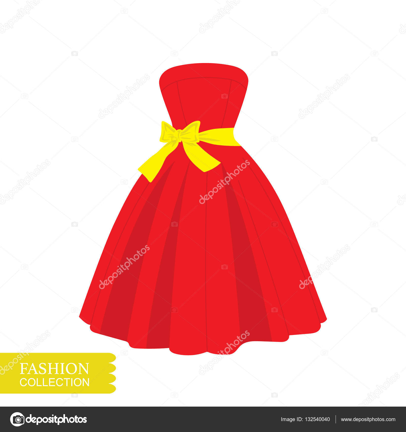 18fce9dcd47d0 çok güzel bir elbise çizimi. — Stok Vektör © barkarola #132540040