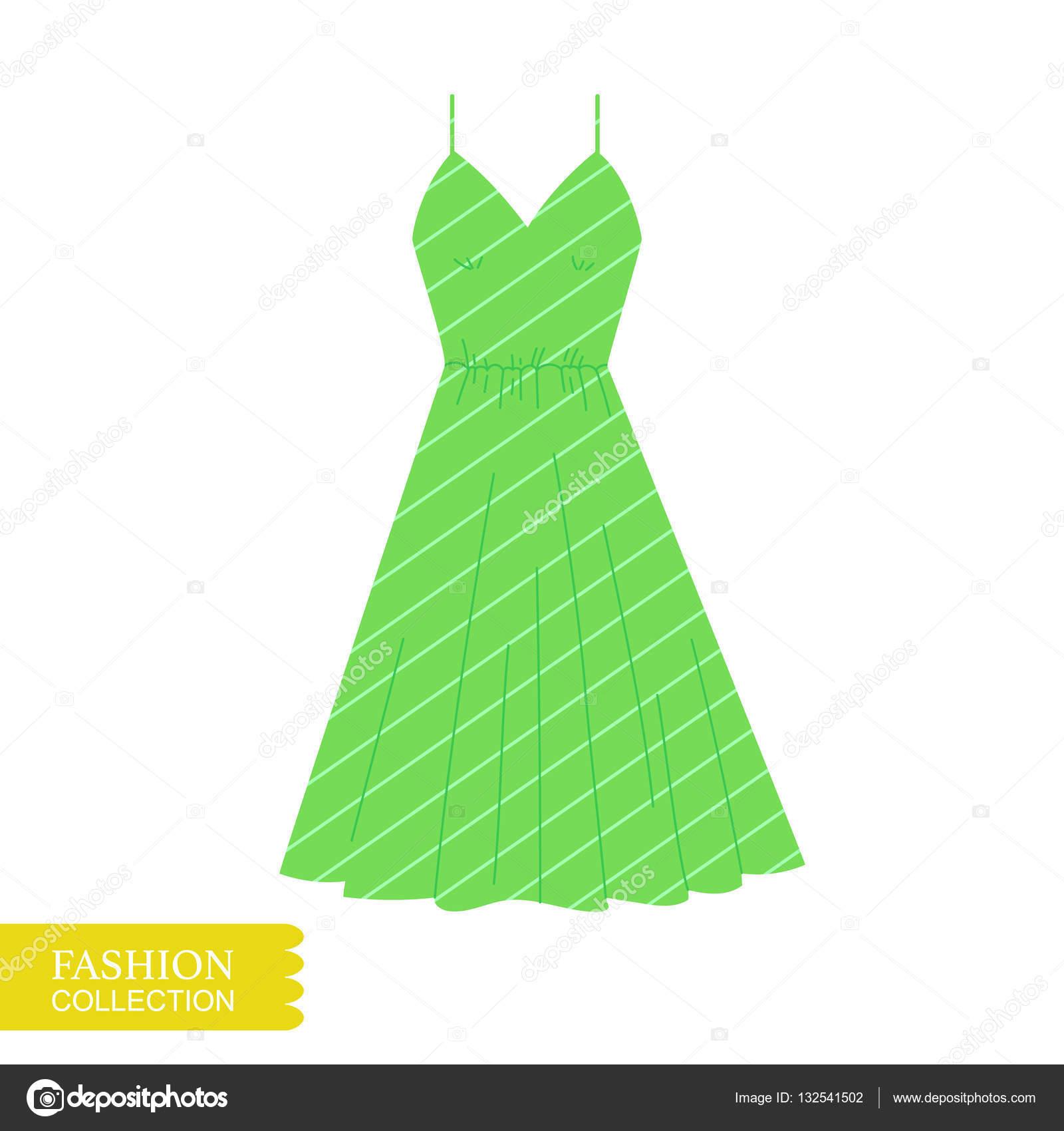 ab64ad451256e çok güzel bir elbise çizimi. — Stok Vektör © barkarola #132541502