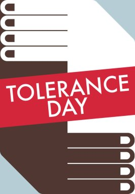 Tolerance poster, illustration