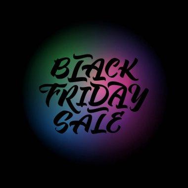 Black Friday Sale handwritten