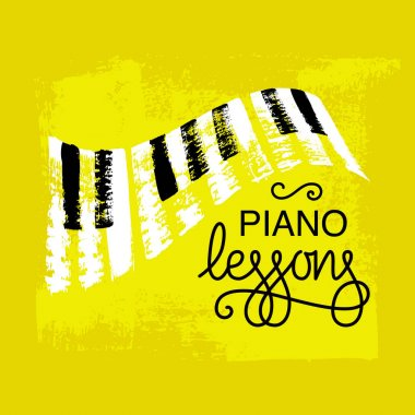 Piano keyboard concept