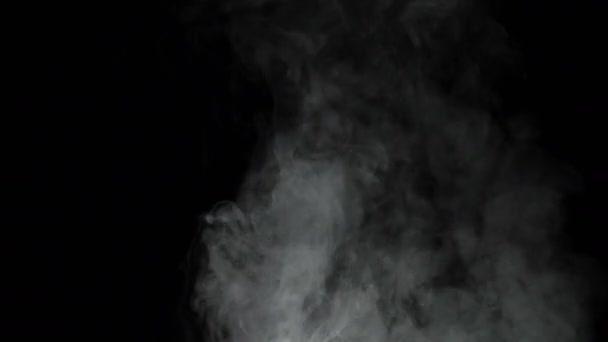Metráž bílé zakouřený Cloud, 4k video