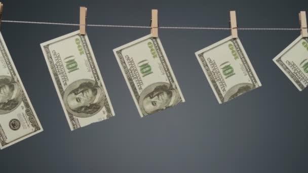 Video devalvace dolaru na šňůře