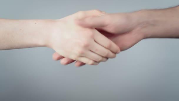Video of handshake during epidemic